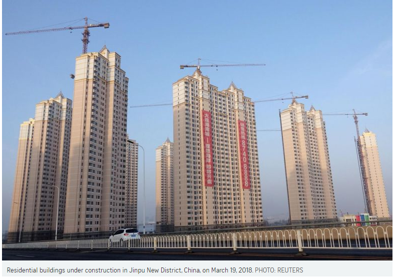 China new home prices rise