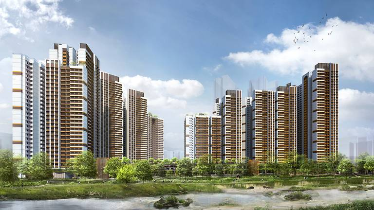 The Bishan Ridges project in Bishan - HDB launches